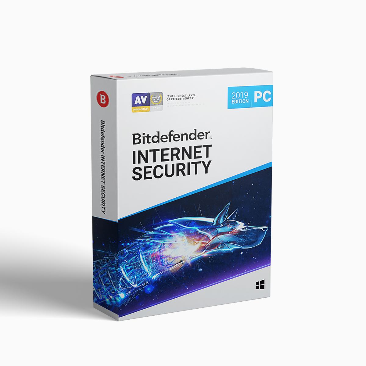 Bitdefender Internet Security (1 user 1 year)