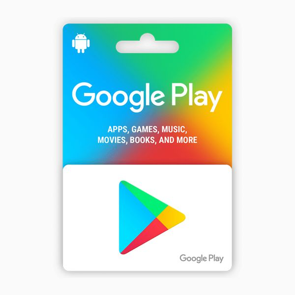 Google Play Gift Card (25 USD)
