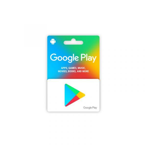 Google Play Card 15 USD (US Region)