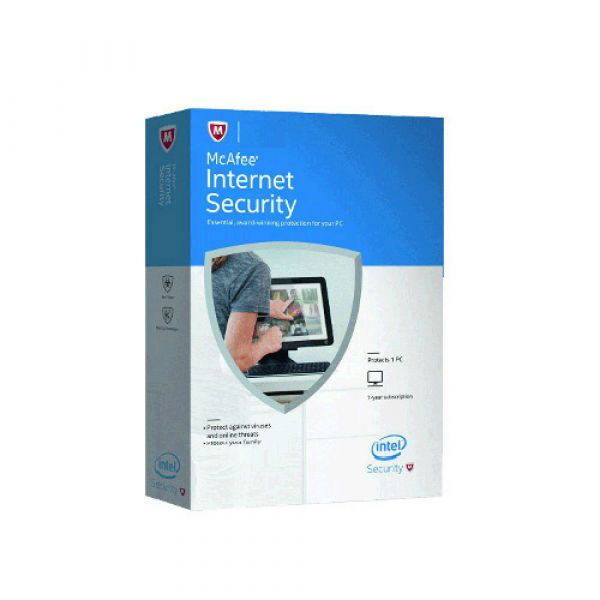 McAfee  Internet Security 1user  (1 Year)