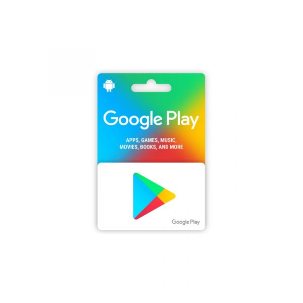 Google Play Card 5 USD (US Region)