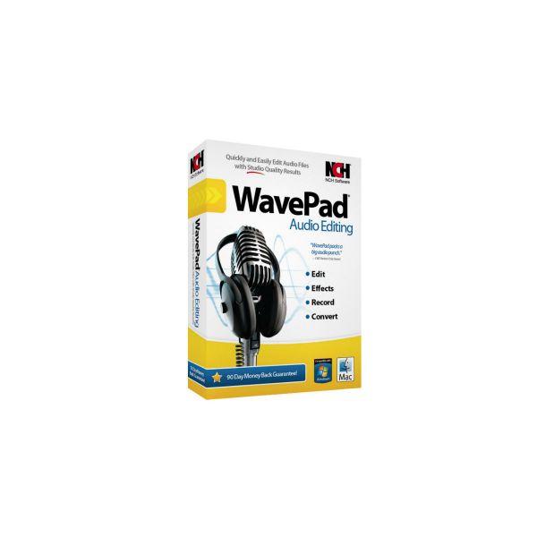 WavePad Audio Editing (Master's Edition)