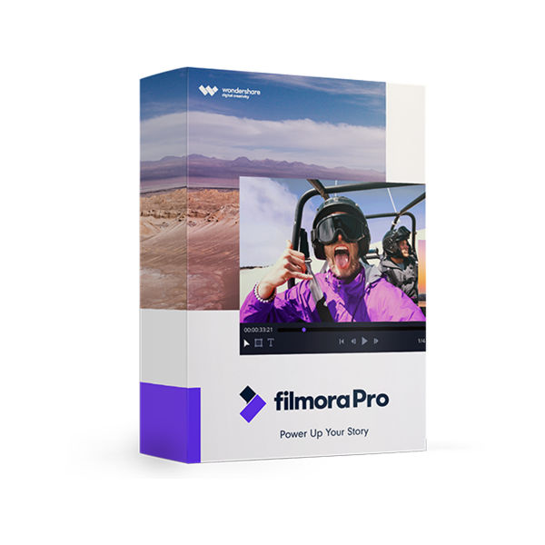 Wondershare FilmoraPro Lifetime