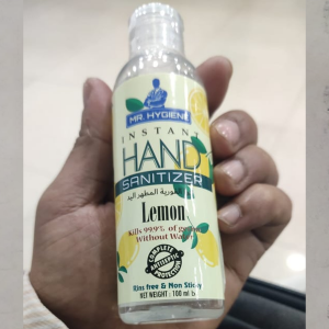 Hand Sanitizer Lemon 100ml x 2pcs