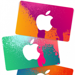 iTunes Gift Cards  (25 USD)