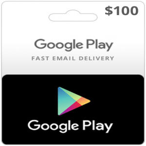 Google Play Gift Card (100 USD)