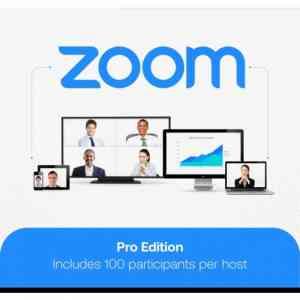 Zoom Meetings Pro 1 Year