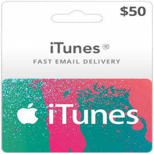 iTunes Gift Cards  (50 USD)