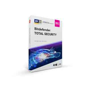 BitDefender Total Security (1 User 1 Year)