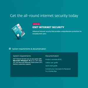 ESET Internet Security (1 Year) (Digital)